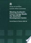Meeting Scotland s Future Energy Needs Book