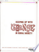 Keeping Up With Change In Rural Society