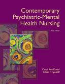 Contemporary Psychiatric-Mental Health Nursing Pdf/ePub eBook