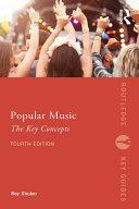 Popular Music: The Key Concepts Pdf/ePub eBook