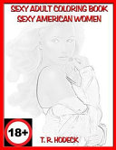 Sexy Adult Coloring Book Sexy American Women