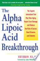 The Alpha Lipoic Acid Breakthrough