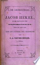 De Leerschool Van Jacob Hekel In De Provincie Urk