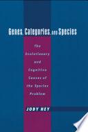 Genes  Categories  and Species