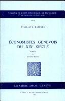 Économistes genevois du XIXe siècle