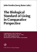 The Biological Standard of Living in Comparative Perspective