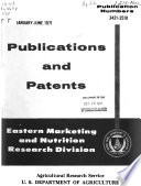 Publications And Patents