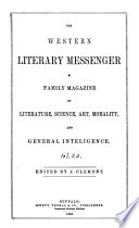 The Western Literary Messenger Book PDF