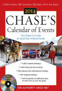 Chase s Calendar of Events 2014 with CD ROM