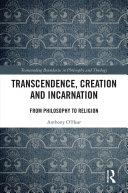 Transcendence, Creation and Incarnation Pdf/ePub eBook