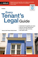 Every Tenant's Legal Guide