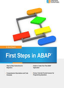 First Steps in ABAP