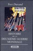 HISTOIRE DE LA DEUXIEME GUERRE MONDIALE