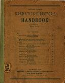 Dramatics Director s Handbook