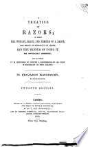 A treatise on razors ... Twelfth edition