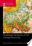 Routledge Handbook of the Chinese Economy Book