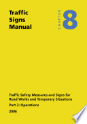 Traffic Signs Manual Operations