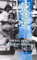 Paroles, langues et silences en héritage