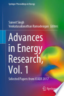 Advances in Energy Research, Vol. 1