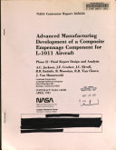 Advanced Manufacturing Development of a Composite Empennage Component for L 1011 Aircraft  Phase 2  Design and Analysis