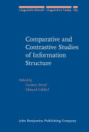 Comparative and Contrastive Studies of Information Structure