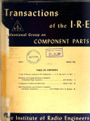IEEE Transactions on Component Parts