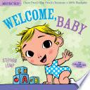 Indestructibles  Welcome  Baby Book