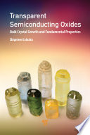 Transparent Semiconducting Oxides Book