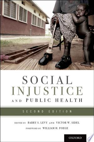 Social+Injustice+and+Public+HealthThis second edition of Social Injustice and Public Health is a comprehensive, up-to-date, evidence-based resource on the relationship of social injustice to many aspects of public health. With contributions from leading experts in public health, medicine, health, social sciences, and other fields, this integrated book documents the adverse effects of social injustice on health and makes recommendations on what needs to be done to reduce social injustice and thereby improve the public's health. Social Injustice and Public Health is divided into four parts: · The nature of social injustice and its impact on public health · How the health of specific population groups is affected by social injustice · How social injustice adversely affects medical care, infectious and chronic non-communicable disease, nutrition, mental health, violence, environmental and occupational health, oral health, and aspects of international health · What needs to be done, such as addressing social injustice in a human rights context, promoting social justice through public health policies and programs, strengthening communities, and promoting equitable and sustainable human development With 78 contributors who are experts in their respective subject areas, this textbook is ideal for students and practitioners in public health, medicine, nursing, and other health sciences. It is the definitive resource for anyone seeking to better understand the social determinants of health and how to address them to reduce social injustice and improve the public's health.