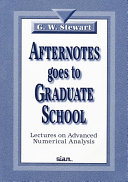 Afternotes Goes to Graduate School