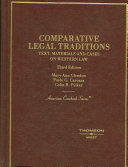 Comparative Legal Traditions