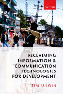 Reclaiming Information and Communication Technologies for Development