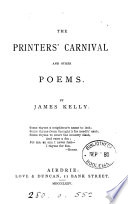 The Printers  Carnival and Other Poems