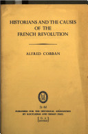 Historians and the Causes of the French Revolution