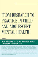 Pdf From Research to Practice in Child and Adolescent Mental Health Telecharger