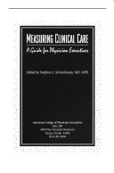 Measuring Clinical Care Book PDF
