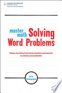 Master Math: Solving Word Problems