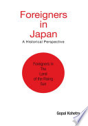 Foreigners In Japan Book PDF