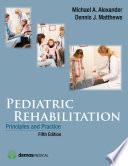 Pediatric Rehabilitation  Fifth Edition