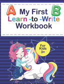 My First Learn to Write Workbook for Kids 3