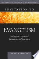 Invitation to Evangelism Book