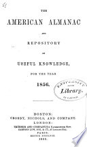 The American Almanac and Repository of Useful Knowledge Book PDF
