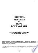 Lithemba Alibulali