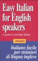 Easy Italian for English speakers Book