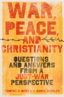 War  Peace  and Christianity