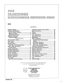 Blackbook International Reference Guide