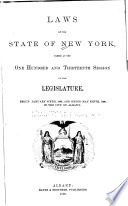 Read Online Laws of the State of New York For Free