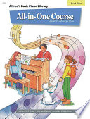 Alfred s Basic All in One Course  Book 4 for Piano Book