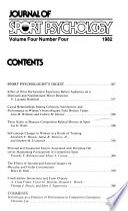 Journal of Sport Psychology