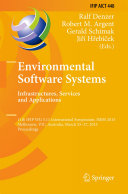 Environmental Software Systems  Infrastructures  Services and Applications
